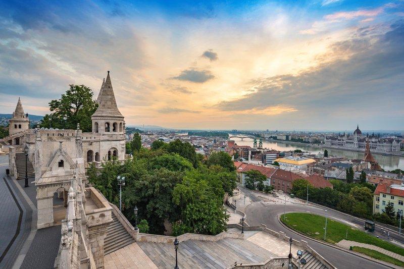 Ribiška trdnjava, Budimpešta, Madžarska