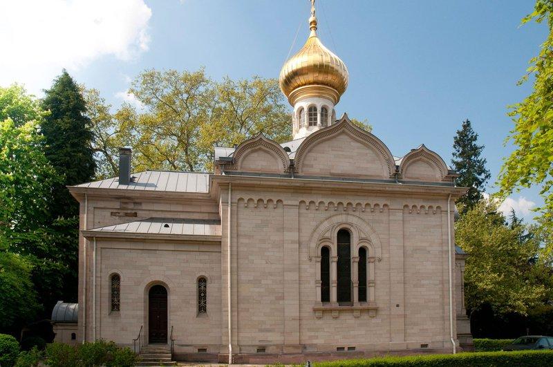 Ruska cerkev, Baden-Baden
