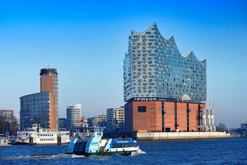 Elbphilharmonie, filharmonija, Hamburg
