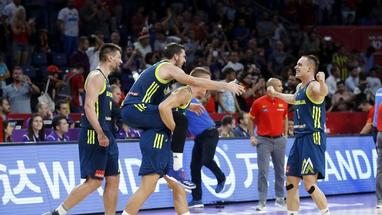EuroBasket 2017: Utrinki s tekme košarkarskega evropskega prvenstva Slovenija – Španija (foto in video) (foto: Profimedia)
