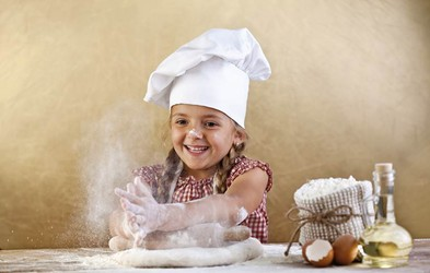 Brezplačna delavnica Fala slončka: Otroci pečejo najboljše pice