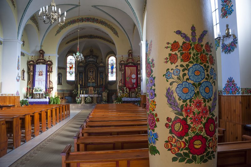 Zalipie, Poljska