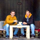 Matej in Jaka: Kako se je rodila ideja o Kolibi