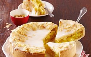 Jabolčna pita s sladkornim oblivom