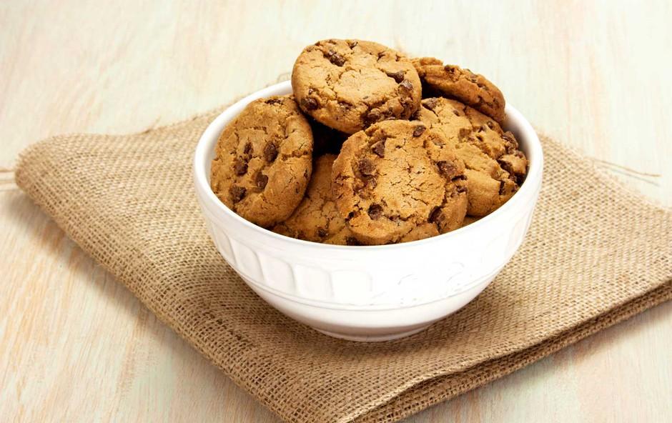 Veganski piškoti z banano in čokolado (foto: Shutterstock)