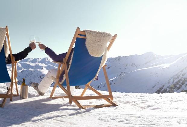 Užitek sredi alpskega gorskega sveta