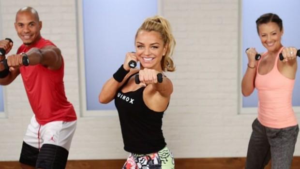 Hitri trening, ki vključuje boks in kardio ter učvrsti trup (foto: Instagram/christadipaolo)