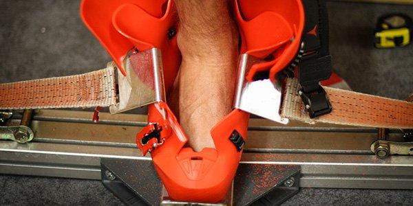 Merjenje in pravilna izbira velikosti smučarskih čevljev