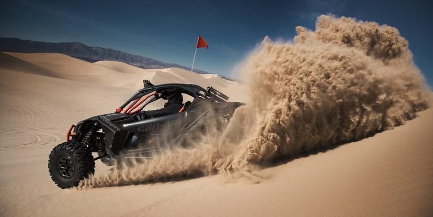 Adrenalinska nagradna igra: Vožnja s Can-Am Maverickom X3, ki zmore kar 172 'konjev'!