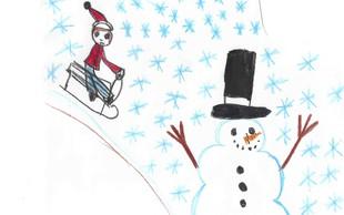 Pomagajte otrokom v stiski ustvariti čarobno zimo