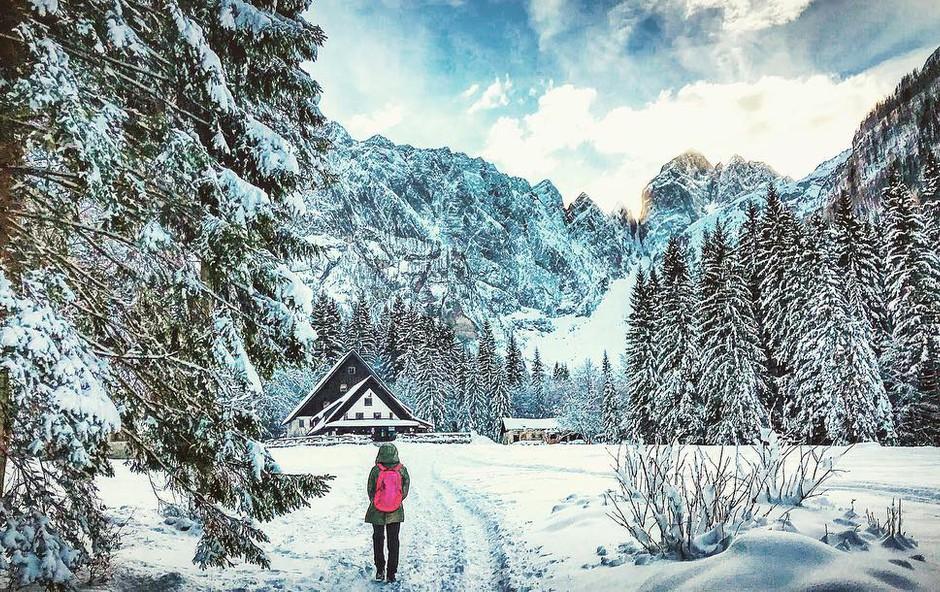 Ideja za izlet: Sprehod po zimski idili do Tamarja (foto: Ana Vehovar)