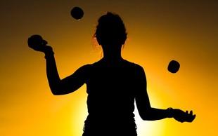 Z žongliranjem do boljšega fizičnega in psihičnega počutja #video