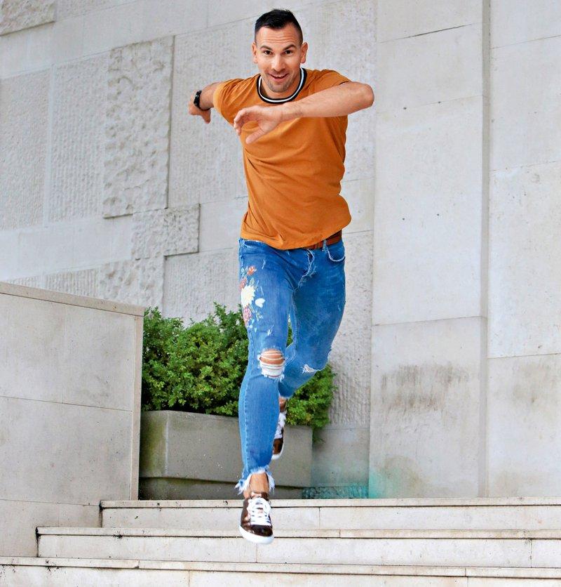 Matevž Česen, plesalec