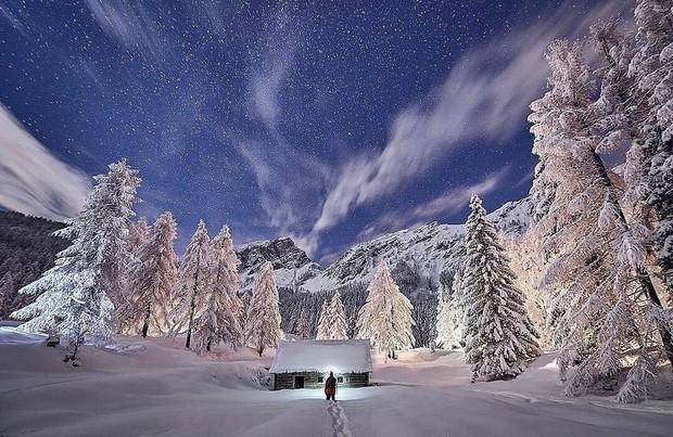 Zima v vsej svoji lepoti: Kranjska Gora in Vršič