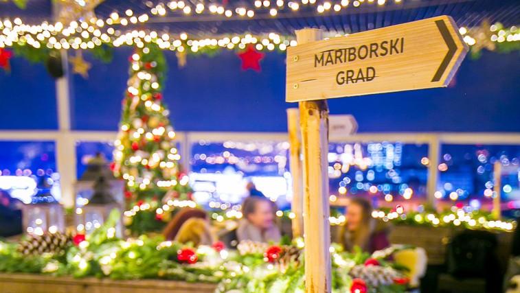 Točke, ki jih v prazničnem Mariboru letos morate obiskati! (foto: Luft 360/Jernej Kogelnik)