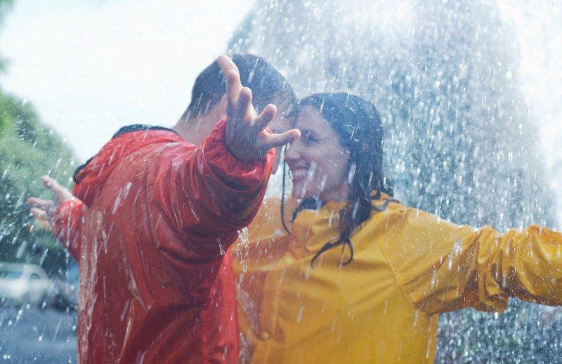 Par na dežju