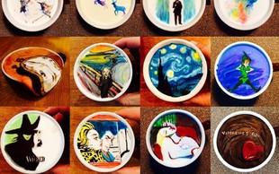 FOTO: Ko kava postane prava umetnost