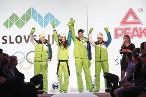 Pjongčang 2018 - Predstavitev slovenske olimpijske kolekcije