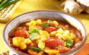 Indijska čičerkina juha