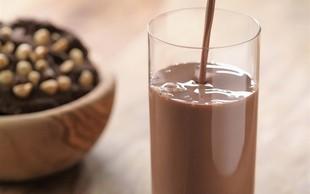 Zakaj bi morali po treningu piti čokoladno mleko?