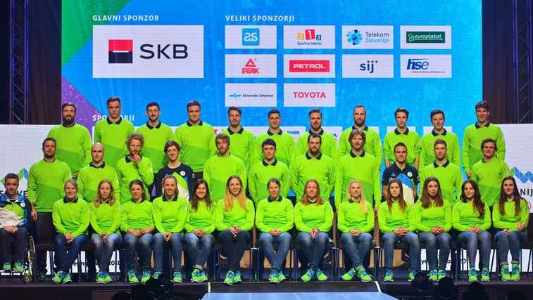 Slovenski športniki in športnice, ki bodo nastopili na olimpijskih igrah v Pjongčangu (foto: Profimedia)