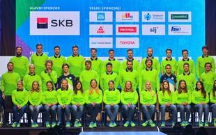 Slovenski športniki in športnice, ki bodo nastopili na olimpijskih igrah v Pjongčangu
