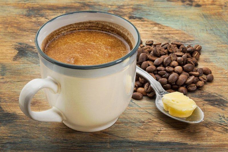 Kava z maslom - keto dieta