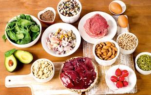 Cink v prehrani