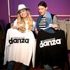 Blogerka in oblikovalka klobukov Sara Zavernik se je zabavala v družbi Hannah Mancini