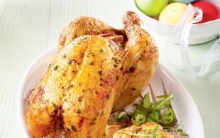 Velikonočni nadevan piščanec