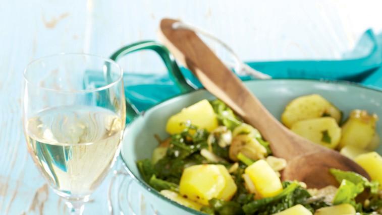 Hrustljave girice s krompirjem (foto: Profimedia)