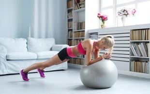 Spomladanski izziv z žogo 2. DAN: Za raven trebuh in oblikovane trebušne mišice