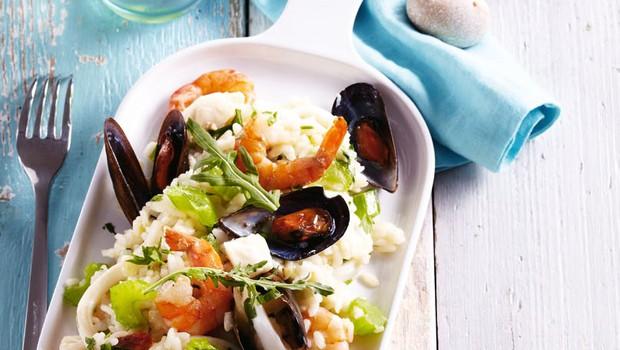 Rižota z morskimi sadeži (foto: Profimedia)