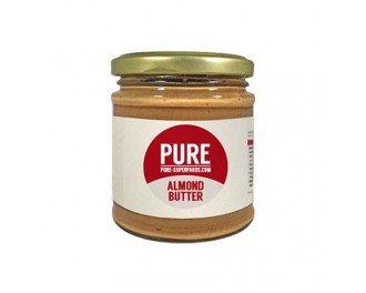 mandljevo maslo je odličen vir beljakovin, vlaknin in zdravih maščob