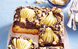 Makova torta s hruškami
