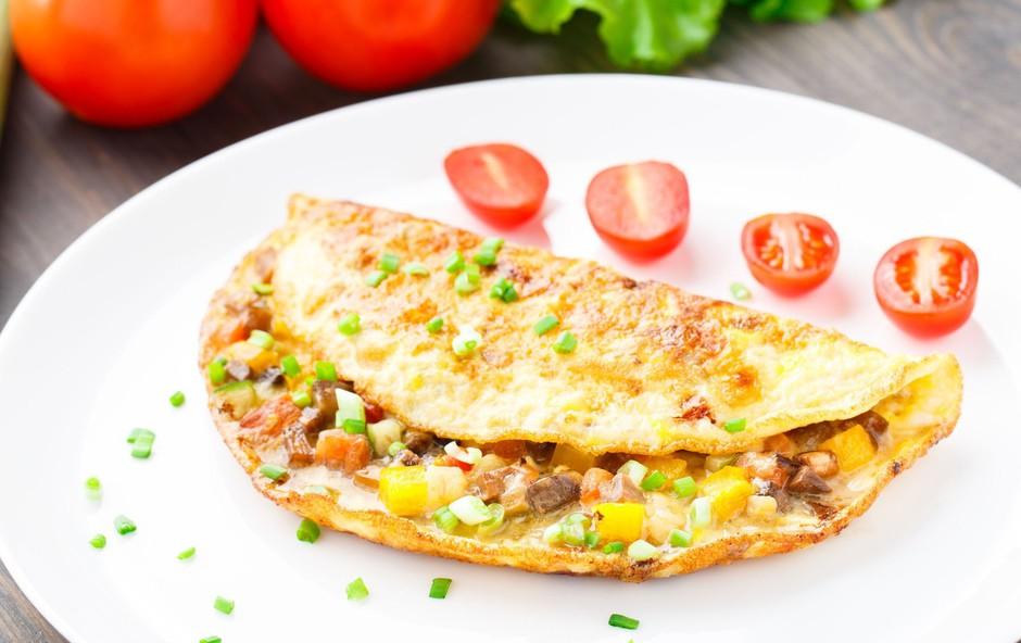 Recept: Jajčna omleta z nadevom (foto: profimedia)