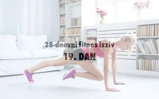 28-dnevni fitnes izziv: 19. DAN (+ recept za obrok pred treningom)