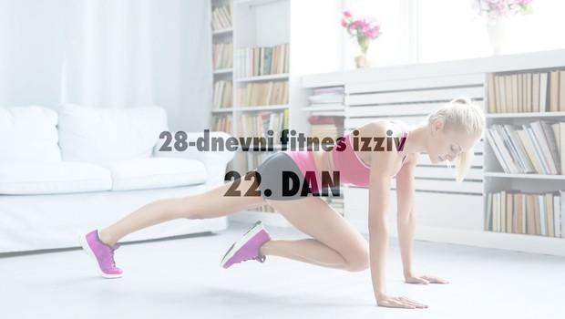28-dnevni fitnes izziv: 22. DAN (+ 2 slastna recepta - obroka pred ali po treningu) (foto: Profimedia)