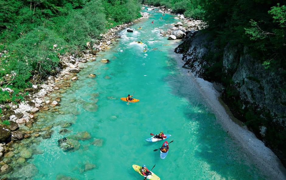 Ideja za izlet: Dogodivščine, ki jih ponuja dolina Soče – in jih to poletje ne smete izpustiti (foto: Shutterstock)