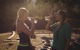 Česa se morate držati, ko poleti opravljate vadbo?