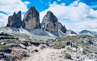 Navdih za poletni izlet: Dolomiti