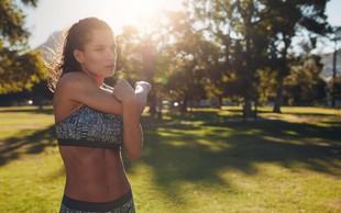 Kako preživeti vadbo v vročini?