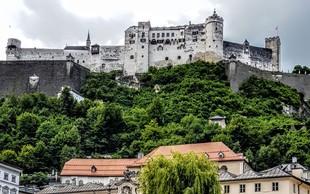 Salzburg, baročno mesto z veliko  kulturno-zgodovinskimi postanki