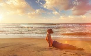 5 jogijskih vaj za hrbtenico