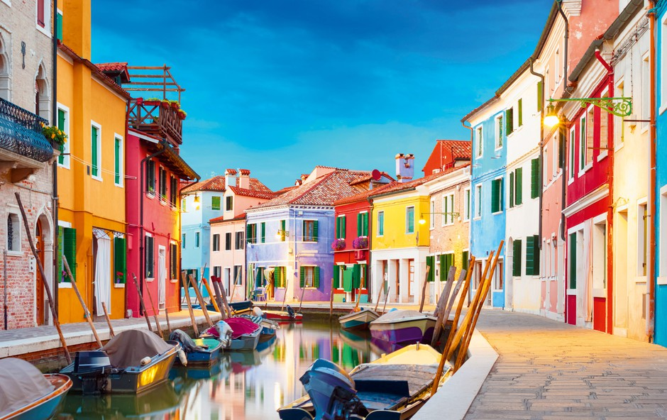 Ideja za vikend izlet: Burano – mesto čipk in barvitih hiš (foto: Shutterstock)