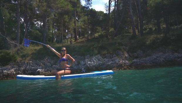 Alenka Košir: Končno morje in ... (foto: Osebni arhiv)