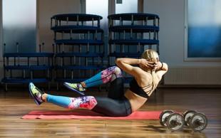 Zakaj bi morali vadbo začeti z vajami za trebušne mišice?