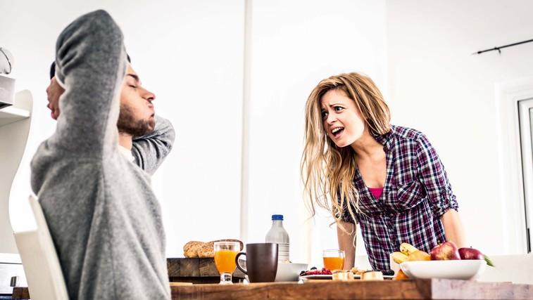 Tudi prepirati se  je treba znati: 5 namigov, da ne postane prehudo (foto: Shutterstock)
