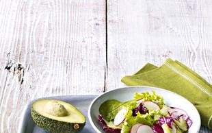 Quesadilla z avokadom, paradižniki in sirom