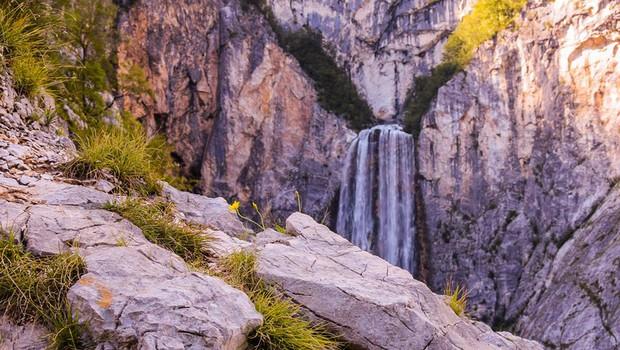 Ideja za izlet: Slap Boka - najbolj vodnat slap v Sloveniji (foto: Erik Smrekar)